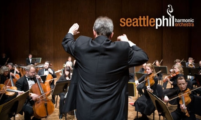 Seattle Philharmonic Orchestra - Seattle: $9 for One Ticket to a Concert Presented by the Seattle Philharmonic Orchestra (Up to $18 Value).  Choose from Three Dates.