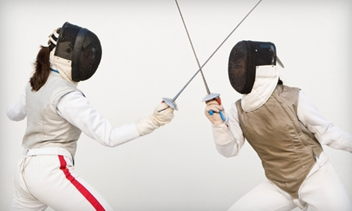 Fresno Fencing Academy - Hoover: $35 for a Four-Week Introductory Fencing Course at Fresno Fencing Academy ($70 Value)