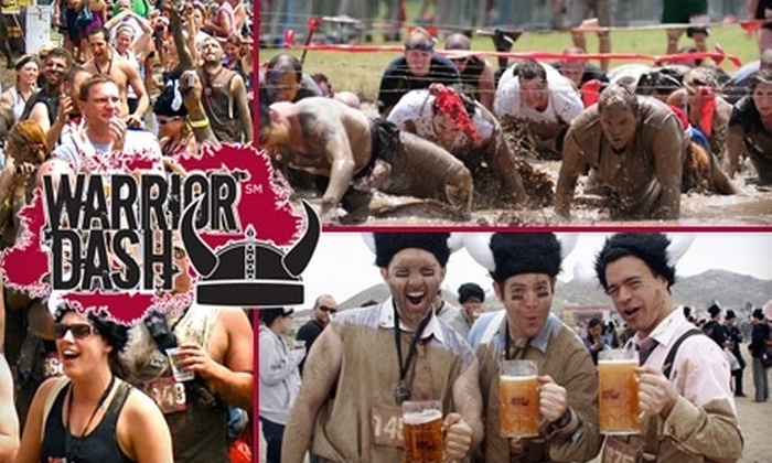 Warrior Dash Mid-Atlantic - East Drumore: $35 for One Entry to Warrior Dash Mid-Atlantic on Sunday, October 10