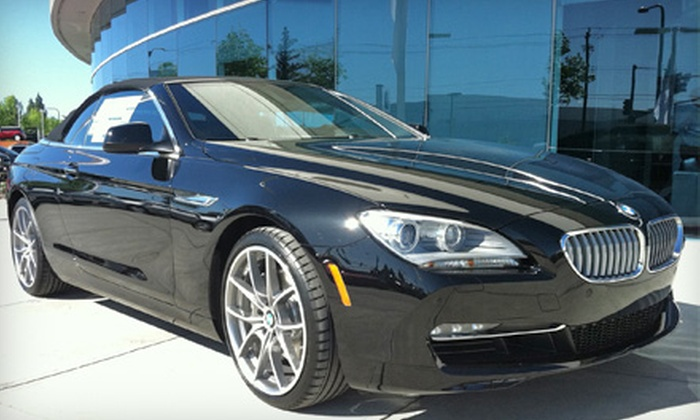 BMW Concord - Downtown Concord: $149 for an Ultimate Spa Detail, Mechanical Inspection, and BMW Loaner Car at BMW Concord ($414 Value)