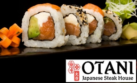 $30 Groupon to Otani Japanese Steak & Seafood - Otani Japanese Steak & Seafood in Sterling