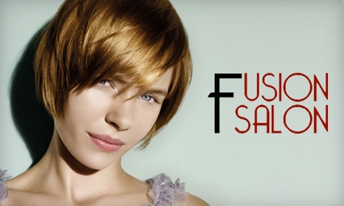 Fusion Salon - Madison Area: $20 for $40 Worth of Hair or Massage Services at Fusion Salon