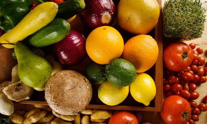 Organic U - Detroit: Organic Produce Delivery for One, Two, Three, or Four People or a Large Family from Organic U (Up to 76% Off)