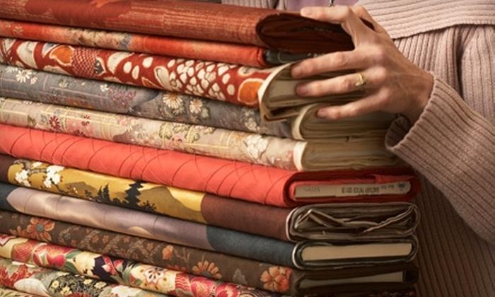 Curran - Lindbergh - Morosgo: $25 for $50 Worth of Designer Fabrics, Furniture, Accessories, and More at Curran