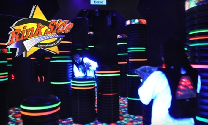 Rink Side Sports and Family Entertainment Center - Gurnee: $20 for Three Hours of Unlimited Video Games, a Round of Mini-Golf, a Game of Laser Tag, One Personal Pizza, and One Medium Soda at Rink Side Sports and Family Entertainment Center in Gurnee