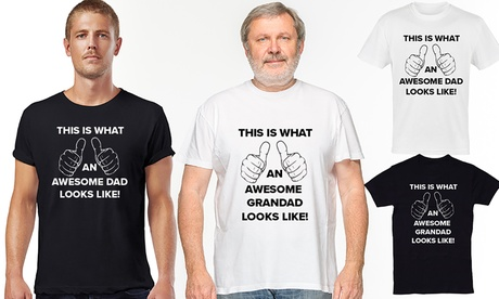 Camiseta Awesome para hombre