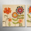 """23.5"""" Handpainted Floral Canvas (Set of 2)"""