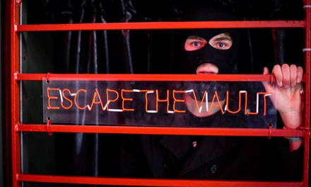 Escape Game and Drink for Four at Escape the Vault Escape Room Brighton