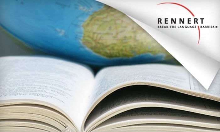 Rennert - Midtown East: $142 for Five Weeks of Foreign Language Classes at Rennert