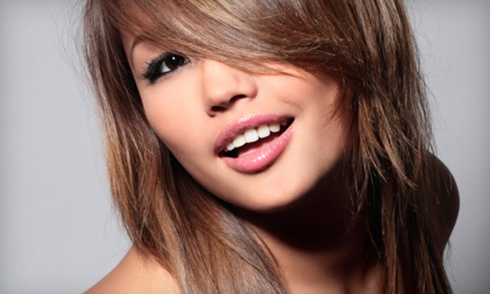 Lighten Up Salon & Spa - Mount Olive: $50 Worth of Hair, Nail, and Body Treatments