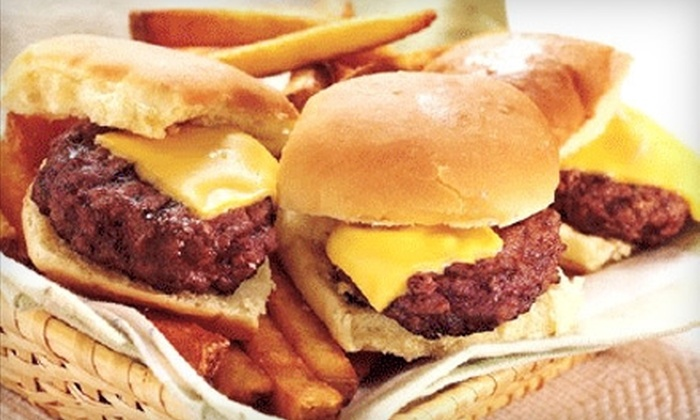 Burger Delux - Plymouth: $7 for $15 Worth of Burgers and Thirst Quenchers at Burger Delux in Northville