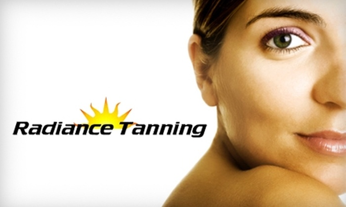 Radiance Tanning - Noblesville: $15 for a VersaSpa Spray Tan and Moisturizing ($30 Value) or $30 for One Month of Unlimited Level One Tanning ($85 Value) at Radiance Tanning