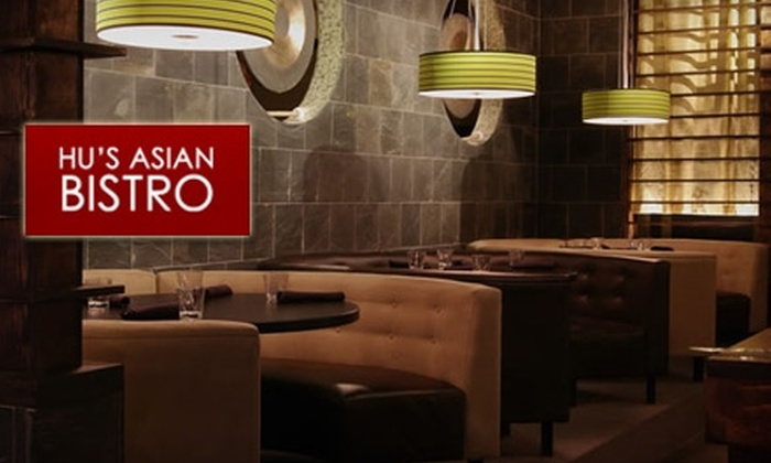 Hu's Asian Bistro - Multiple Locations: $15 for $30 Worth of Authentic Asian Cuisine at Hu's Asian Bistro