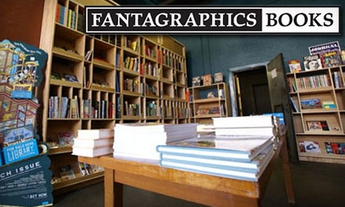 Fantagraphics Books: $20 for $40 Worth of Graphic Novels and Classic Comics at Fantagraphics Books