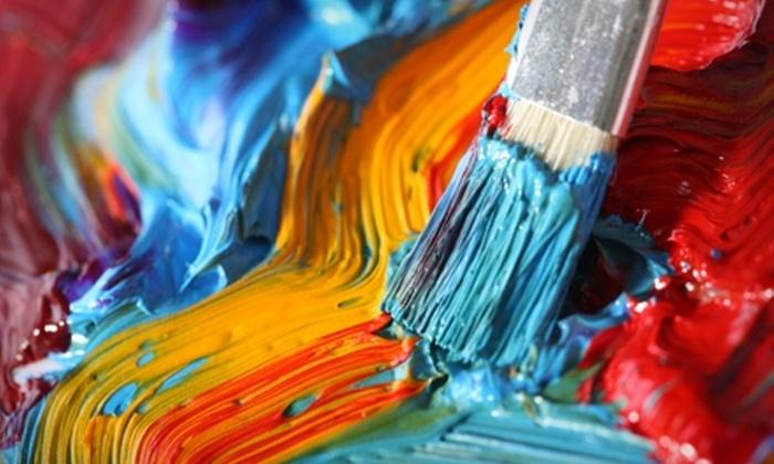 Artworks Fine Art Studio - Bethesda: $15 for Two-Hour Art Workshop or BYOB Painting Class at Artworks Fine Art Studio in Bethesda (Up to $40 Value)