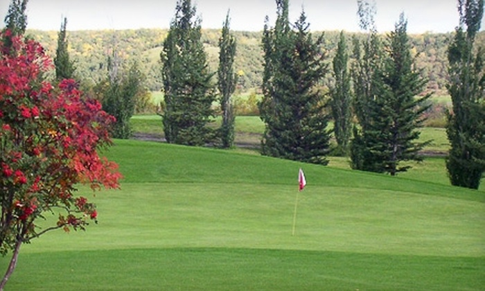 Holiday Mountain - La Riviere: $99 for a One-Night Stay for Two and Two 18-Hole Rounds of Golf Each at Holiday Mountain in La Rivière (Up to $206.88 Value)