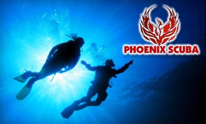 55% Off Scuba Diving Certification - Phoenix Scuba | Groupon