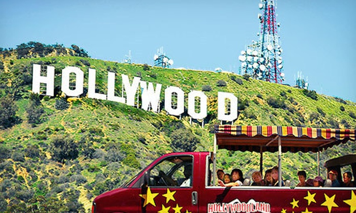 Hollywoodland Tours - Hollywood: Hollywood Tour and Hollywood Sign Tour for Two or Four from Hollywoodland Tours (Up to 59% Off)