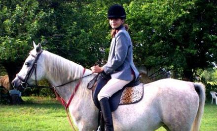 1-Hour Private Horseback-Riding Lesson (a $36 value) - Labzara Ranch in Broken Arrow
