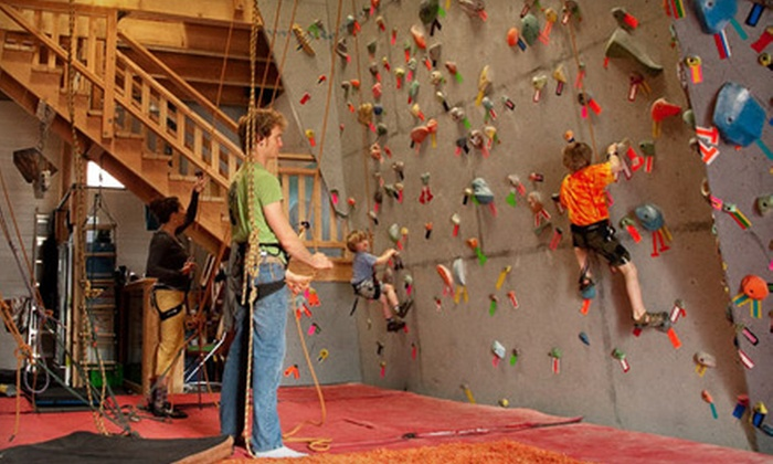 The Alternative Climbing Gym - Tofino: Drop-In Bouldering, Climbing Course, or Membership to The Alternative Climbing Gym in Tofino