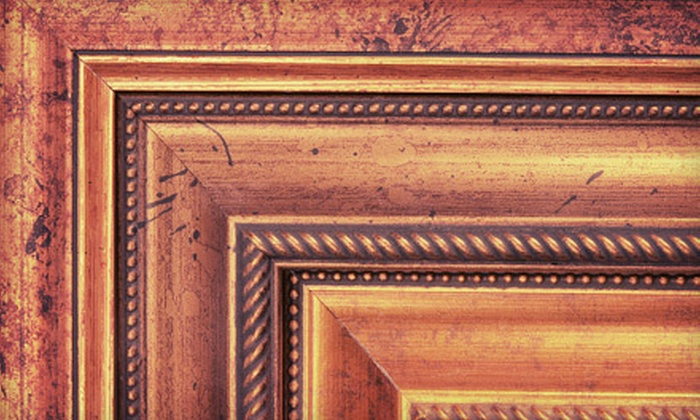 Allan Jeffries Framing - Multiple Locations: $39 for $100 Worth of Custom Framing at Allan Jeffries Framing