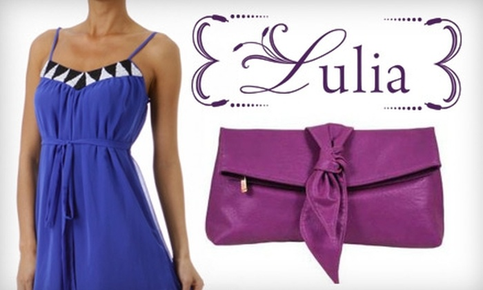 Lulia Boutique - Hampton Roads: $25 for $60 Worth of Clothes and Accessories at Lulia Boutique in Virginia Beach