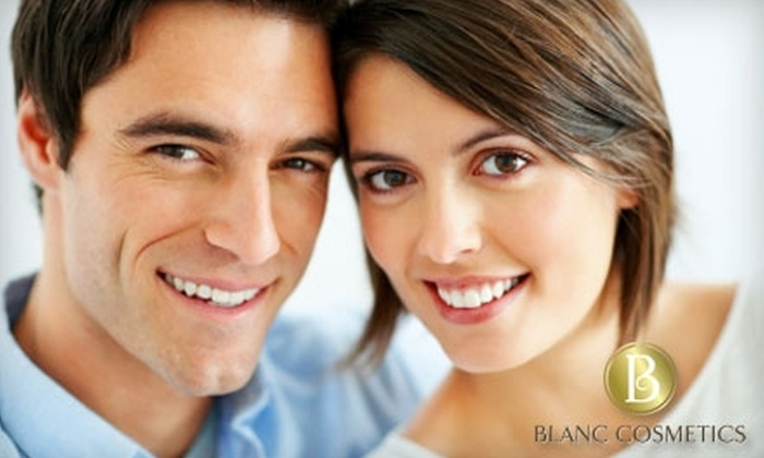 Blanc Cosmetics - Rocky View: $75 for a SpaWhite Treatment and WhiteIce Maintenance Stick at Blanc Cosmetics
