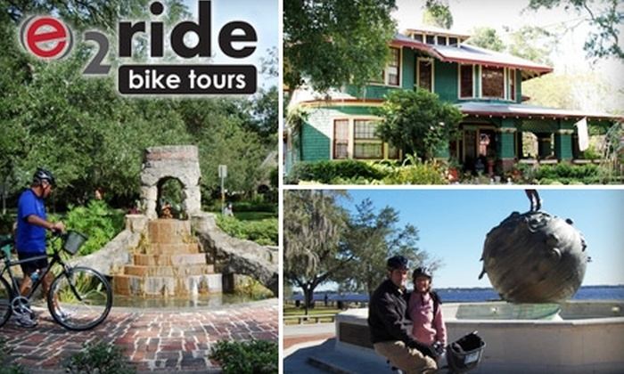 e2ride Bike Tours - Multiple Locations: $29 Historic Bike Tour from e2ride Bike Tours (Up to $58 Value)
