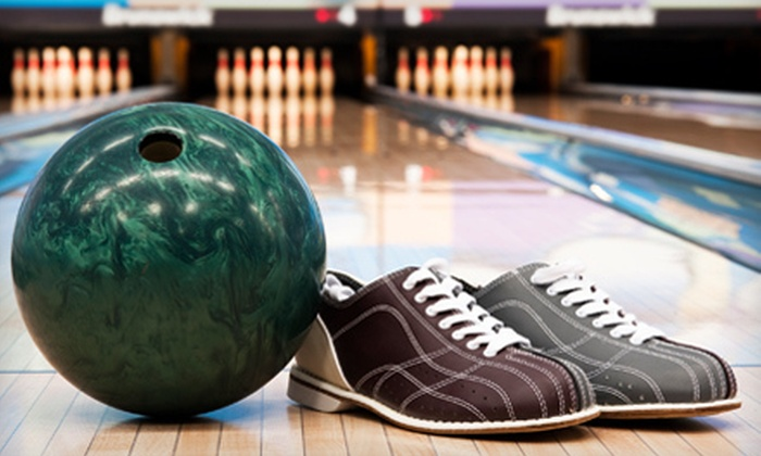 Albany Bowl - Albany: Bowling and Shoe Rental for Two or Four at Albany Bowl (Up to 52% Off)