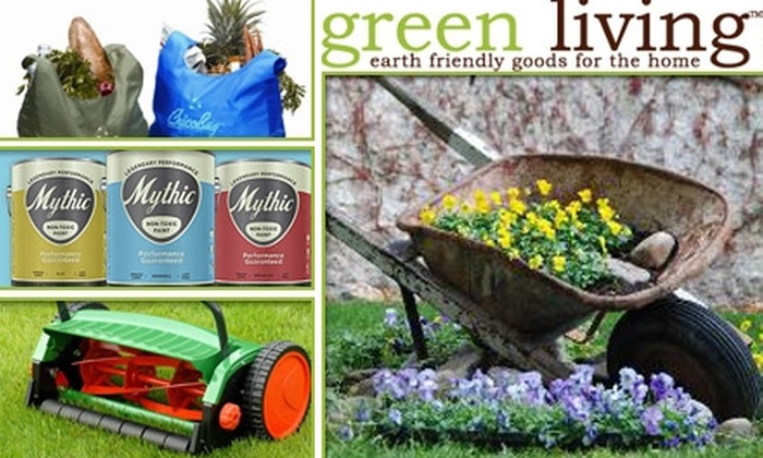 Green Living - Lakewood: $20 for $40 Worth of Eco-Conscious Lifestyle Products from Green Living