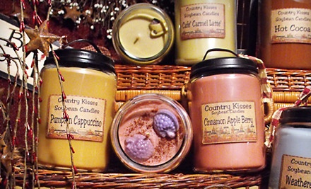 $30 Groupon to Country Kisses Candle Shoppe - Country Kisses Candle Shoppe in Cape Coral