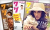 """""""7x7"""" - Multiple Locations: $7 for a One-Year Subscription to """"7x7"""" Magazine ($15 Value)"""