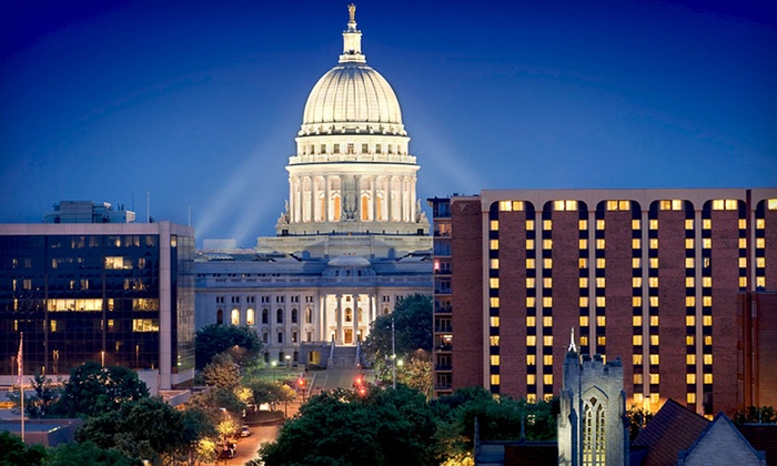 The Madison Concourse Hotel and Governor's Club - Warrens Addition,Mansion Hill,Downtown: One- or Two-Night Stay for Two at The Madison Concourse Hotel and Governor's Club in Wisconsin