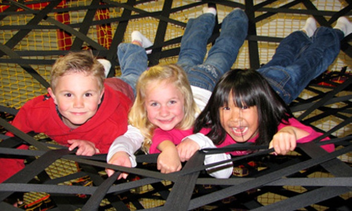 BounceU - Bedford: Five Open-Jump Passes or One Child Admission During Parents' Night Out