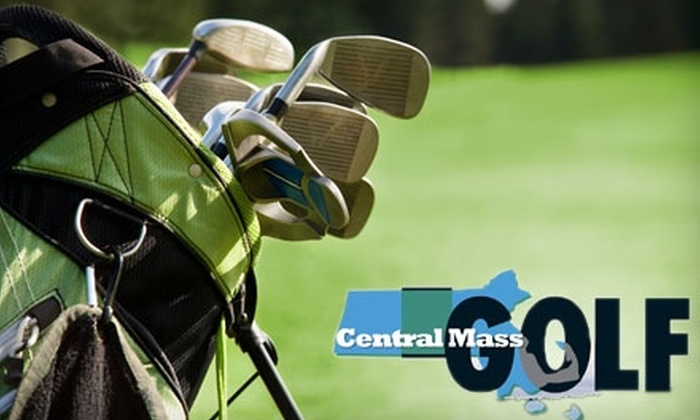 Central Mass Golf: $45 for a Season Pass 2011 Savings Booklet from Central Mass Golf ($59.95 Value)