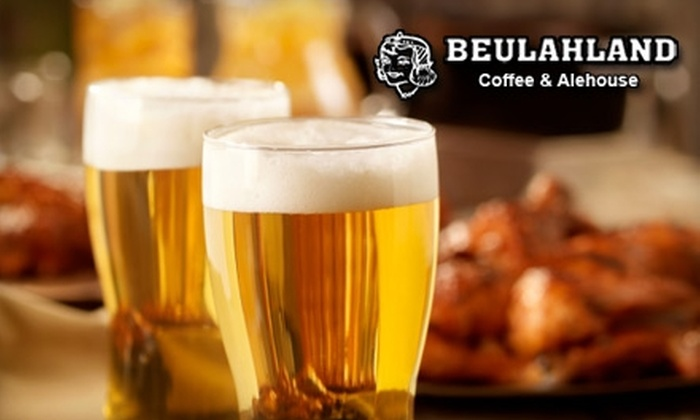 Beulahland Coffee and Alehouse - Kerns: $7 for $15 Worth of Gourmet Pub Grub and Drinks at Beulahland Coffee and Alehouse