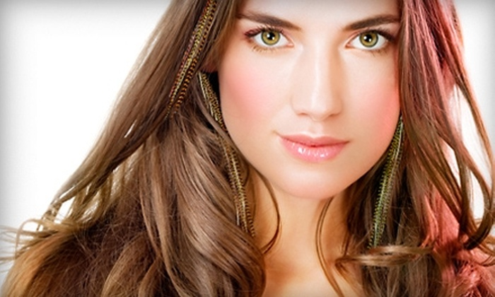 Hair Graphics - Northwest Virginia Beach: Feather Hair Extensions or Salon Services at Hair Graphics in Virginia Beach
