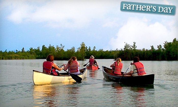 Canoe Evansville - Evansville: $15 for Two Admissions to Guided Canoe Tour from Canoe Evansville ($30 Value)