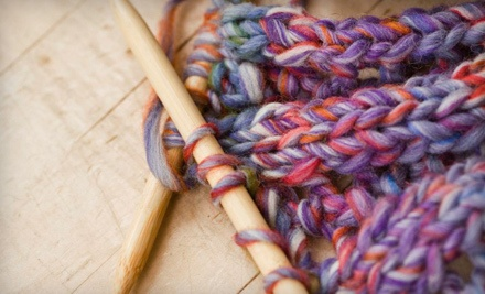 4 Knitting or Crocheting Classes Held Wed at 4PM or Sat at 9AM (a $40 value) - Stash: The Midtown Yarn Shop in Memphis