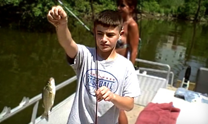 Gone Fishin' Bait and Tackle - Cuyahoga Falls: $30 for a Three-Hour Fishing Charter Trip from Gone Fishin' Bait and Tackle in Cuyahoga Falls ($60 Value)