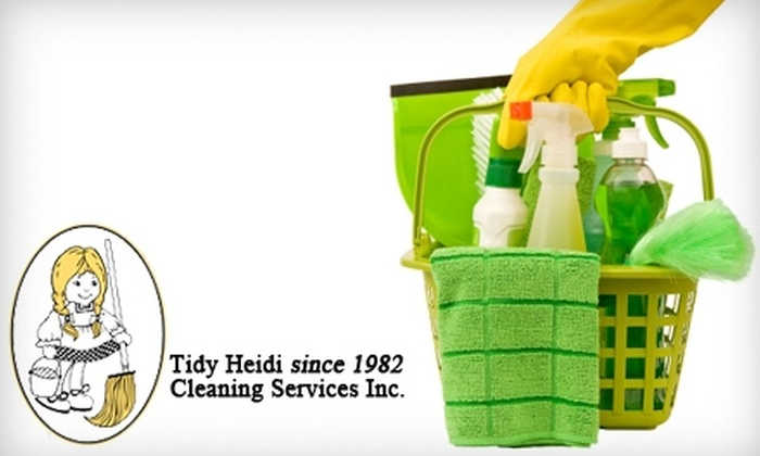 Tidy Heidi - Kitchener - Waterloo: $50 for Three Hours of House Cleaning from Tidy Heidi ($107.35 Value)