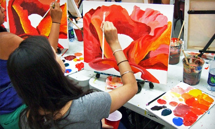 Painting Lounge - Williamsburg: Two-Hour BYOB Painting Workshop for One at Painting Lounge (Half Off)