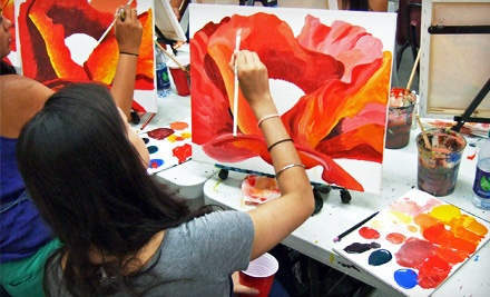 New York: Two-Hour BYOB Painting Workshop for One at Painting Lounge (Half Off)