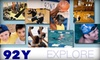 92nd Street Y - Upper East Side: $20 for a One-Month Gym Membership Including Fitness Classes at the May Center in the 92nd Street Y's May Center ($159 Value)