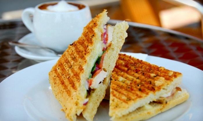 Amocat Cafe - New Tacoma: $5 for $10 Worth of Café Fare at Amocat Cafe