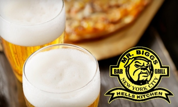Mr. Biggs Bar & Grill - Clinton: $20 for $45 Worth of Classic Pub Food and Drinks at Mr. Biggs Bar & Grill