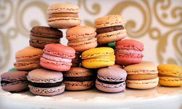Sandrine French Pastry & Chocolate - Central City: $5 for $10 Worth of Croissants, Cakes, and Macarons at Sandrine French Pastry & Chocolate