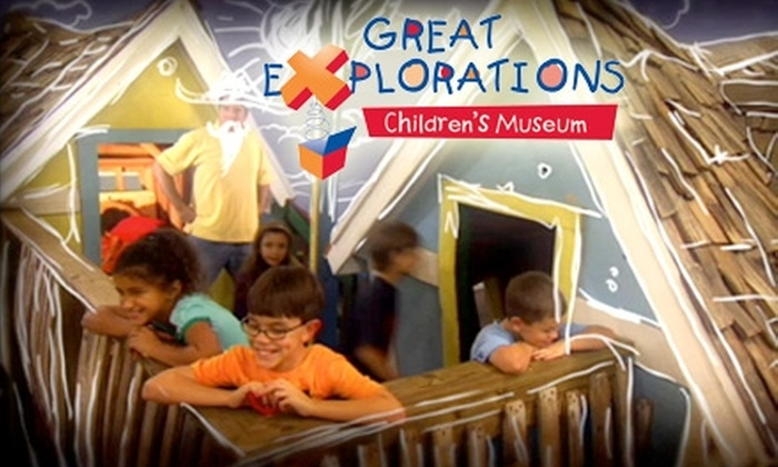Great Explorations Children's Museum - Historic Old Northeast: $39 for One Basic Family Membership ($100 value) or $10 for Two Admissions (Up to $20 Value) to Great Explorations Children's Museum