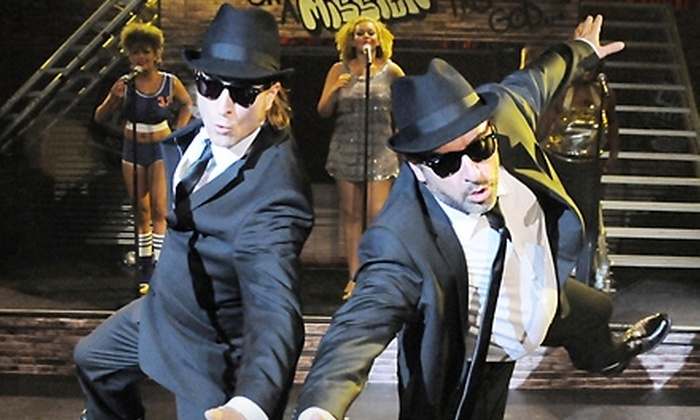 """The All New Original Tribute to the Blues Brothers"" at Auditorium Theatre of Roosevelt University - South Loop: One Ticket to ""The All New Original Tribute to the Blues Brothers"" at Auditorium Theatre of Roosevelt University. Six Options Available."