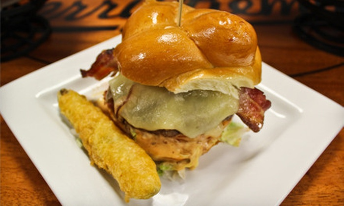 Jerry Remy's Sports Bar & Grill at Fenway - Fenway - Kenmore - Audubon Circle - Longwood: Seasonal American Fare at Jerry Remy's Sports Bar & Grill at Fenway (Up to 64% Off). Two Options Available.